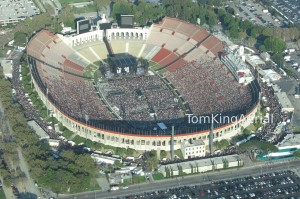 Aerial ads for concert promotions
