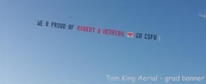 Toom King Aerial - grad banner